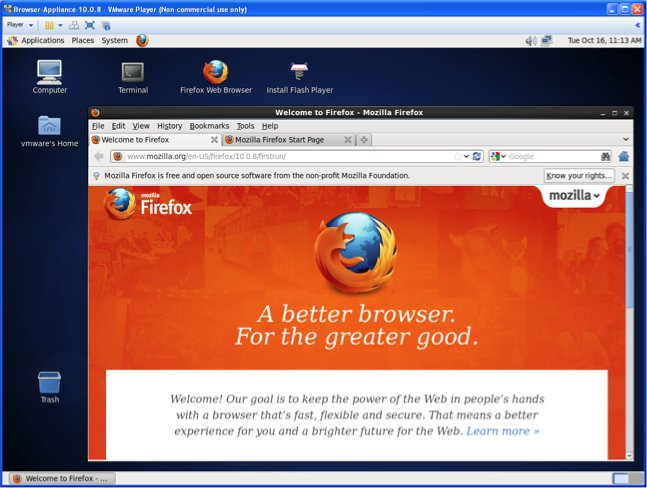 Browser Appliance